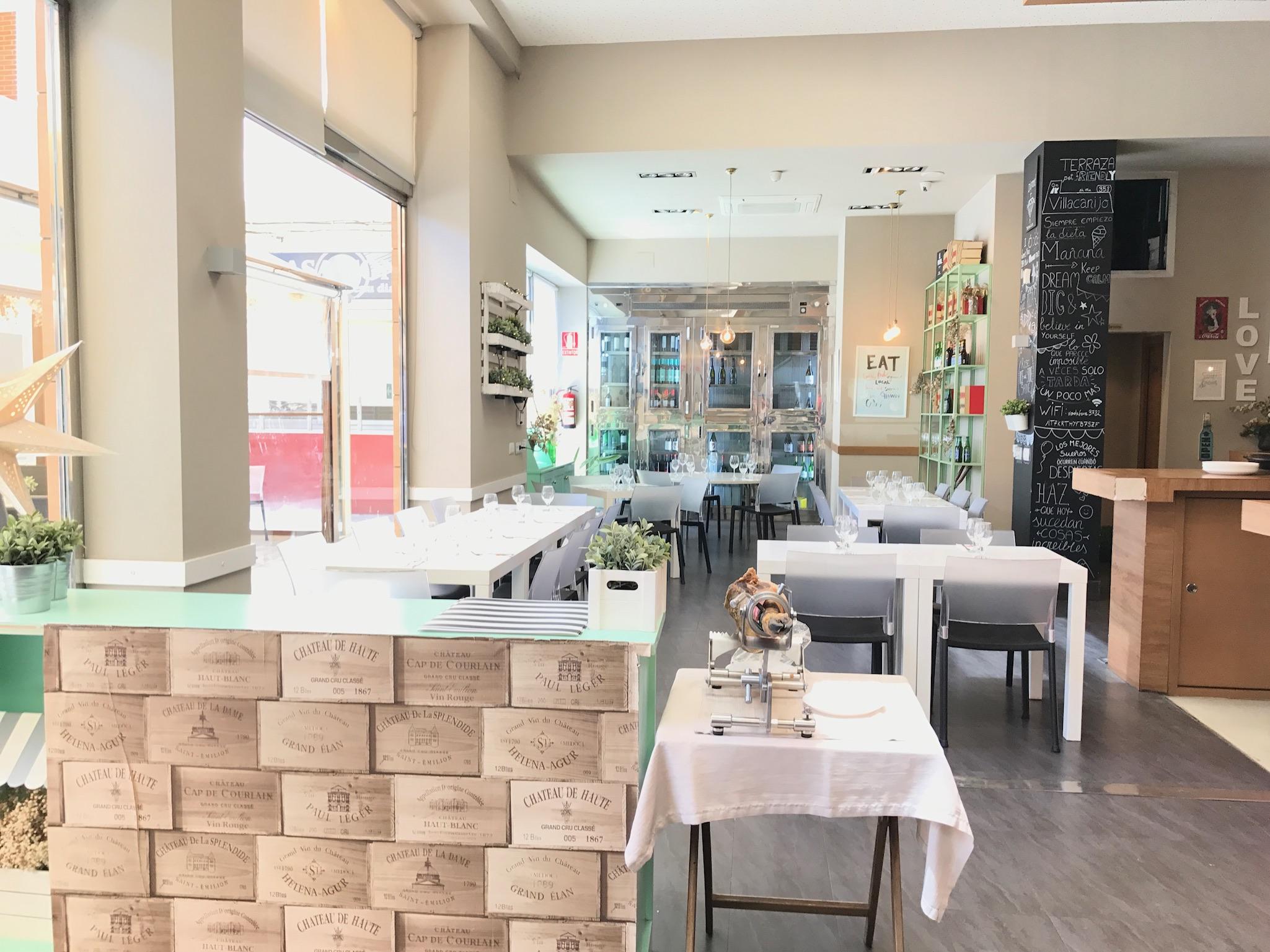 Restaurante el obrador en Valencia